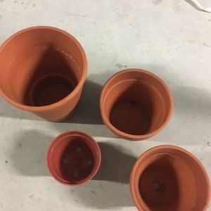 Other - Clay plant pot